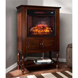 Southern Enterprises Providence Infrared Electric Fireplace Tower