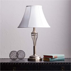 Southern Enterprises Bowen Table Lamp in Brushed Antique Bronze