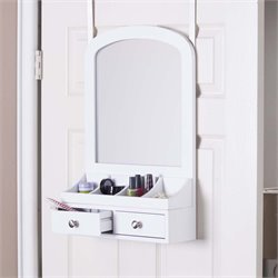 Southern Enterprises Myla Over-the-Door Jewelry Mirror Organizer