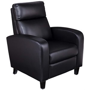 Southern Enterprises Benton Faux Leather 2 Step Recliner