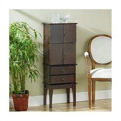 Southern Enterprises Isabella Cherry Jewelry Armoire