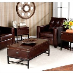 Southern Enterprise Yorkshire 3 Piece Trunk Table Collection
