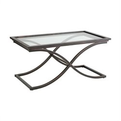 Vogue Glass Top Coffee Table