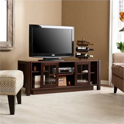 Southern Enterprises Kenton TV Stand/Media Console in Espresso