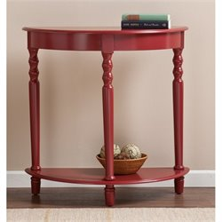 Southern Enterprises Tyra Demilune Accent Table