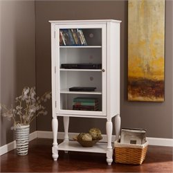 Southern Enterprises Caden Storage and Display Tower in White