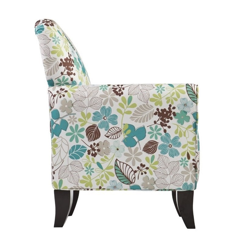 accent arm chair cheap southern enterprises floral print with ottoman chairs for living room philippines