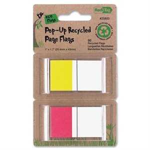 Redi-tag Pop-up Recycled Page Flags
