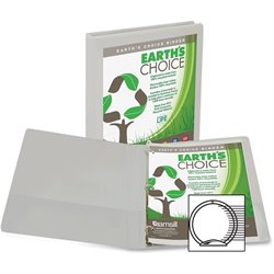 Samsill Earth's Choice Round Ring View Binders