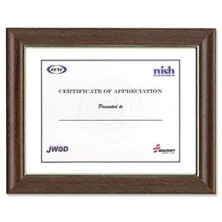 SKILCRAFT Style B Wood Picture Frame (Set of 12)