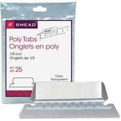 Smead Poly Color-code Hanging Folder Tabs