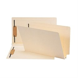 Smead 2-ply Tab Manila Expansion Fastener Folder