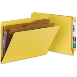 Smead End Tab Pressboard Classification Folders