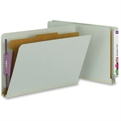 Smead End-tab 1-Div Fastener Classificatn Folders