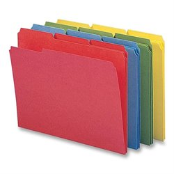 Smead 1/3 Cut Colored Packaged File Folders (Set of 12)