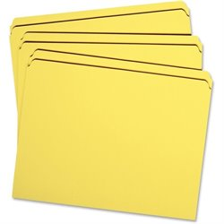 Smead 2-ply Str-cut Tab Colored File Folders (Set of 100)