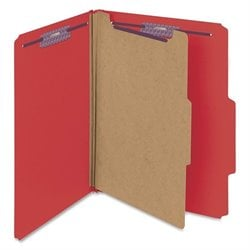 Smead SafeSHIELD Fstner 1-Div Classificatn Folders