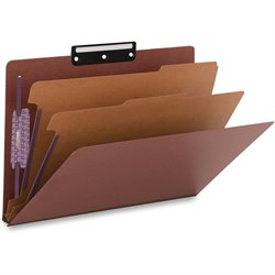 Smead 1/3 Cut Metal Tab Classification Folders