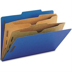 Smead Pocket Divider SafeShield Classfcatn Folders