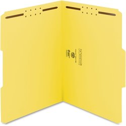 Smead WaterShed/CutLess Fastener Color Folders (Set of 50)