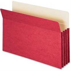 Smead Drop Front Panel Colored File Pockets