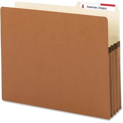 Smead 2/5 Cut Top Tab File Pockets