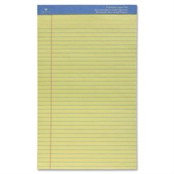 Sparco Premium Grade Perforated Legal Ruled Pads