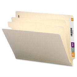 Sparco Manila End-tab 2-Div. Classificatn Folders
