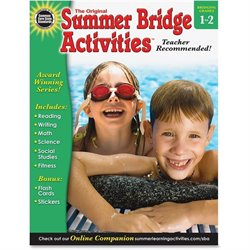 Carson Grades 1-2 Summer Bridge Activities Workbk