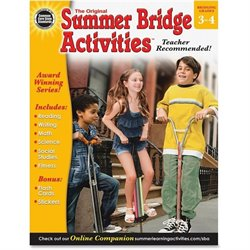 Carson Ages 8-10 Summer Bridge Activities Workbook