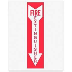 Tarifold Fire Extinguisher Magneto Sign Insert