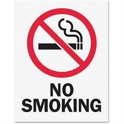 Tarifold No Smoking Magneto Frame Sign Insert
