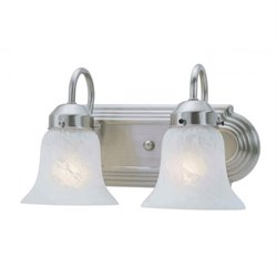 Livex Riviera Bath Light in Brushed Nickel