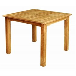 Anderson Teak Bahama Patio Bistro Table in Natural