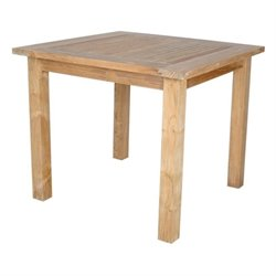 Anderson Teak Windsor Patio Bistro Table in Natural