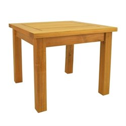 Anderson Teak Bahama Patio End Table in Natural