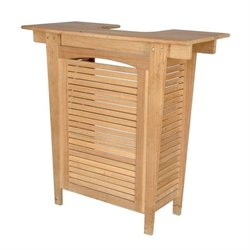 Anderson Teak Montego Outdoor Bar in Natural