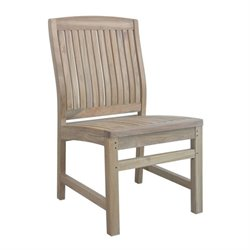 Anderson Teak Sahara Patio Dining Chair in Natural