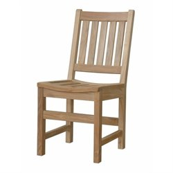 Anderson Teak Sonoma Patio Dining Chair in Natural