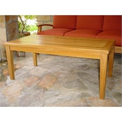 Anderson Teak Brianna Outdoor Coffee Table in Natural