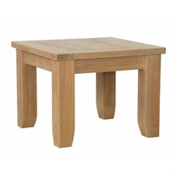 Anderson Teak Luxe Patio End Table in Natural