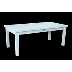 Anderson Teak Kenzie Outdoor Coffee Table in White