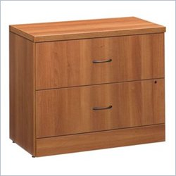 Global Adaptabilities 2 Drawer Lateral Wood File Cabinet in Avant Honey