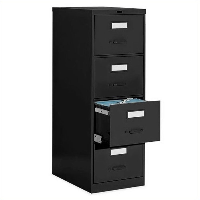 Beau Global Office 4 Drawer Vertical Metal File Cabinet