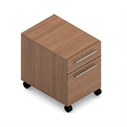 Global Princeton Mobile Pedestal in Winter Cherry
