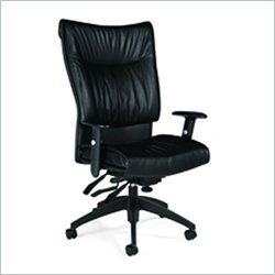 Global Softcurve High Back Multi-Tilter Office Chair in Black