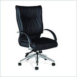 Global Softcurve High Back Tilter Chair in Black