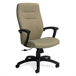 Global Synopsis High Back Tilter Office Chair in Beach Day