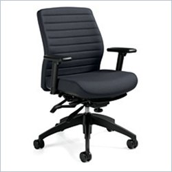 Global Aspen Medium Back Multi Tilter Office Chair