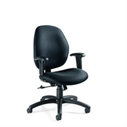 Global Graham Low Back Ergo Tilter Office Chair in Stone